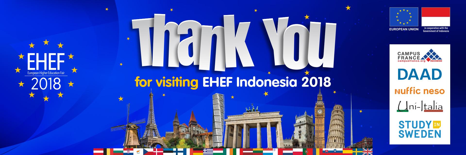 EHEF 2018 Thank You